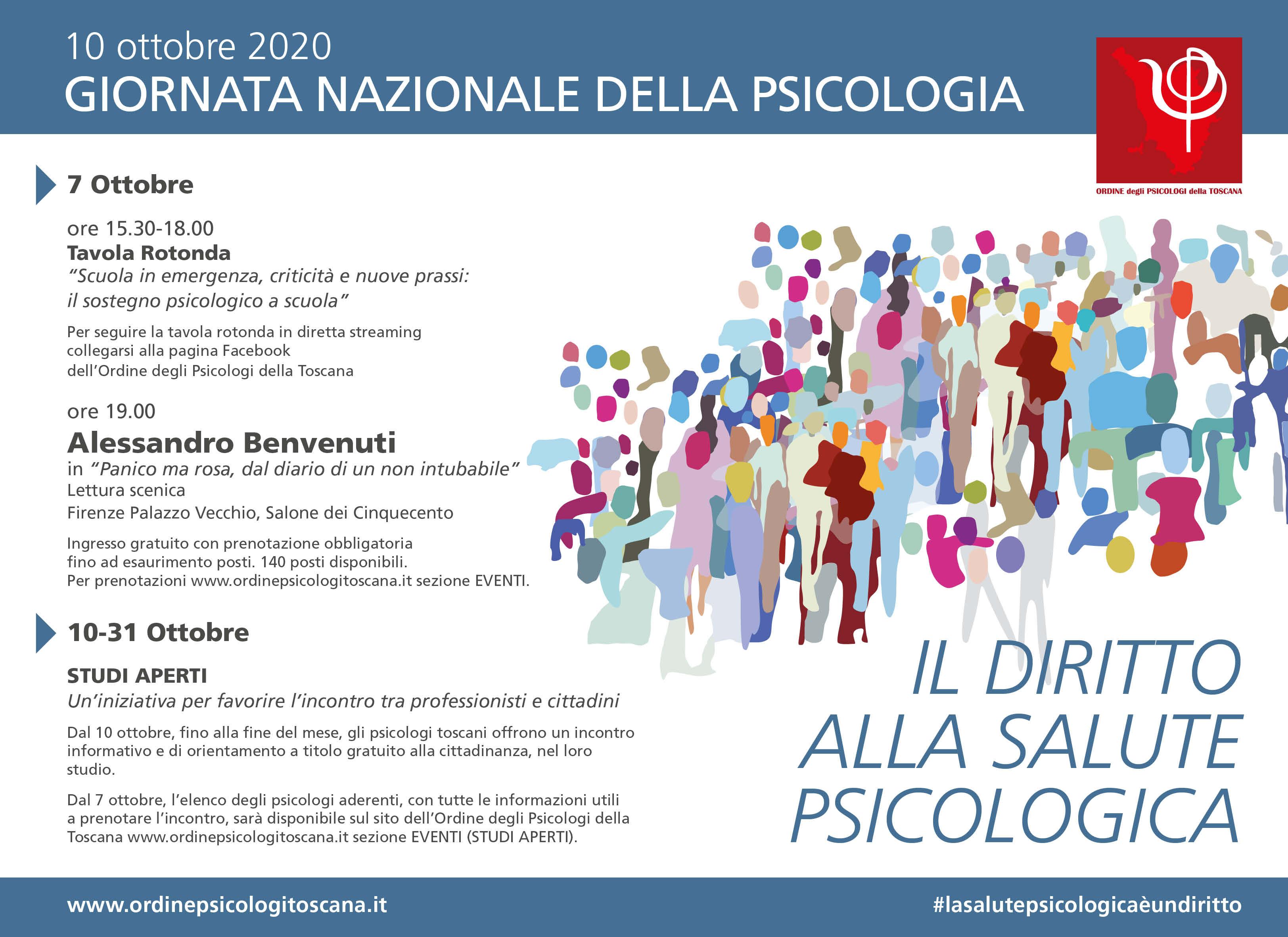 Giornata Nazionale Della Psicologia News Opt Ordine Psicologi Toscana